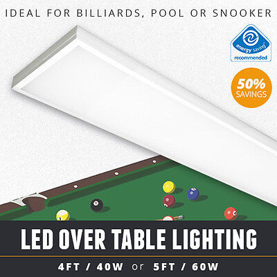 Over Table Led Billiard / Pool Table Light Or Led Snooker Table Lights 4Ft / 5Ft