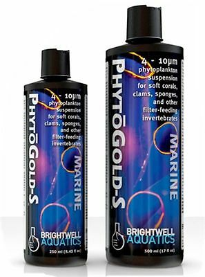 BRIGHTWELL PHYTOGOLD-S  For Soft Corals, Clams, Sponges & filter feeding Inverts
