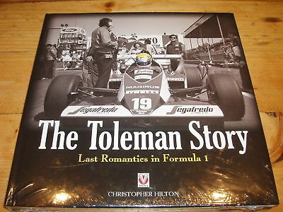 Shrinkwrapped New Book - The Toleman Story - Last romantics in Formula 1