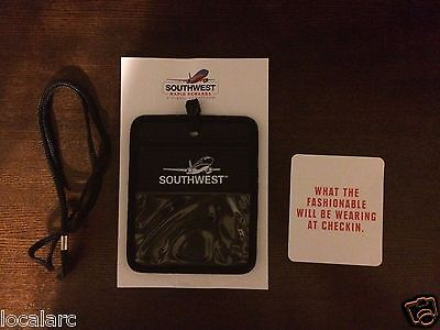 Southwest Airlines travel document holder (Rapid Rewards Member exclusive)
