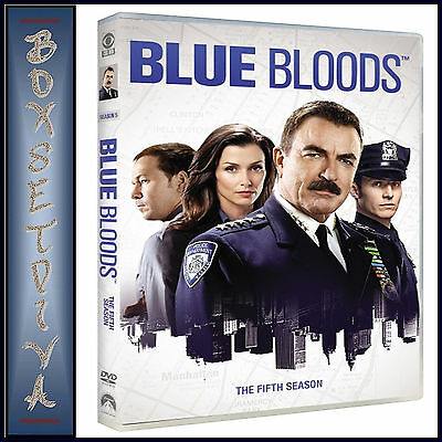 Blue Bloods - Complete Season 5  * Brand New Dvd***
