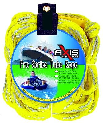 Axis - 16mm Super Heavy Duty Ski Tube Rope - 1-3 Rider