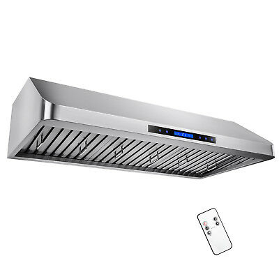 "48"" Under Cabinet Touch Control /w Remote Kitchen Vent Fan Range Hood Filters"