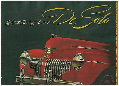 1941 DeSoto Automobile Sales Brochure