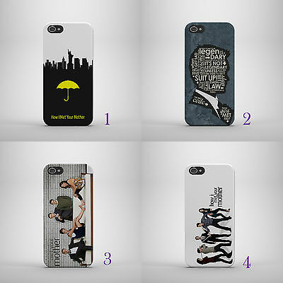 How I Met Your Mother Tv Series Hard Phone Case Cover For Iphone/samsung Models