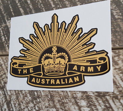 AUSTRALIAN ARMY RISING SUN Decal Sticker seventh pattern Military Patriotic