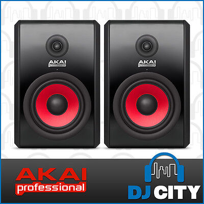 PK-RPM800 Akai 8 Inch Active Studio Monitor Pair for Production and Studio Us...