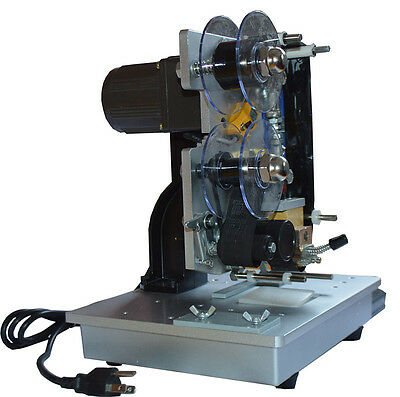 Auto 110V Color Ribbon Code Machine for Hot Stamping and Labeling Date US Seller