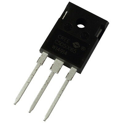 Cree C5D50065D SiC-Diode 46A 650V Silicon Carbide Schottky Diode TO247 855417