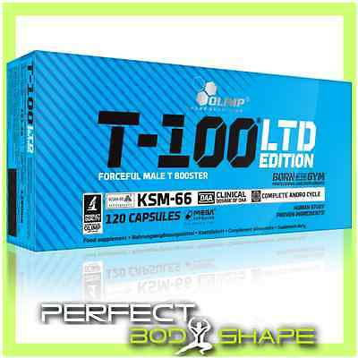 OLIMP T-100 LTD EDITION TESTOSTERONE BOOSTER Mega Capsules Strong Anabolic Form
