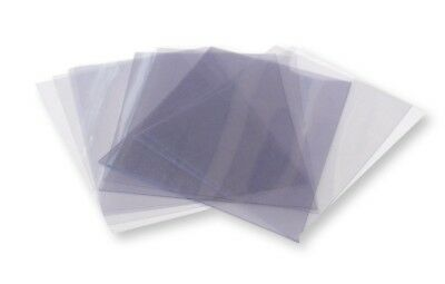 10 A4 Clear Acetate / Plastic Sheets - 180 micron
