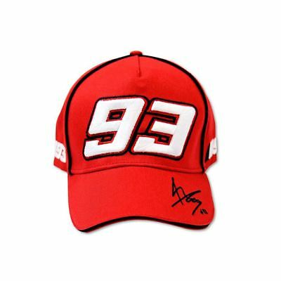 Marc Marquez #93 Paddock Cap Official VR46 Moto GP Red