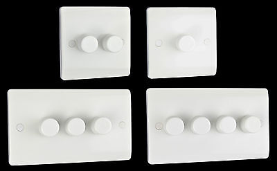 Brand new slim line white plastic dimmer switch, 2 years warranty, top quality