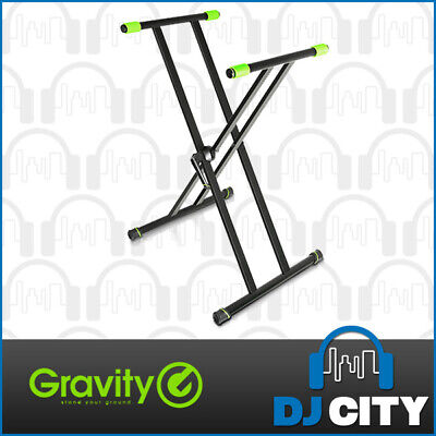 Gravity KSX2 Heavy Duty Keyboard Stand X-Form Double Brace - DJ City