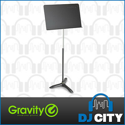 Gravity Heavy Duty Music Stand Professional Stage Orchestra Quality - DJ City