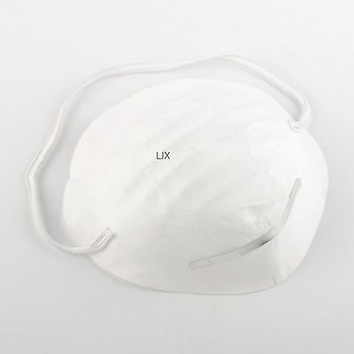 50pc Disposable Dust Face Masks Mouth Antidust Filter Safety Medical Respirator