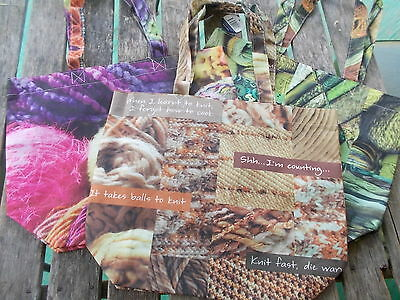 1 x Craft bag made from recycled PET - choose from 3 designs.  A great gift!