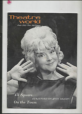 Theatre World Magazine June 1963 - Beryl Reid - All Square - On The Town -