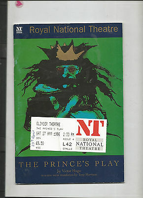 Theatre Programme - The Princess 's Play 1996 - Victor Hugo - Catherine Tate -
