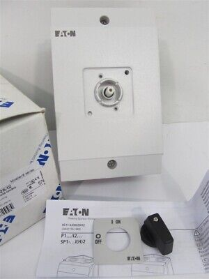 Eaton Type P1-25/I2, Surfacing Mounting, On-Off Switch