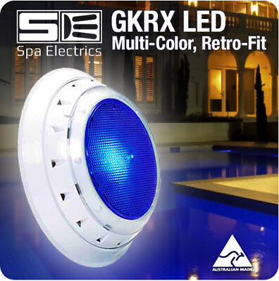 Spa Electrics GKRX / GK7 Multi Plus (Multi-Colour) LED Pool Light, Retro Fit