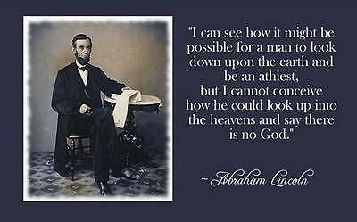 Abraham Lincoln  president quote  Refrigerator magnet