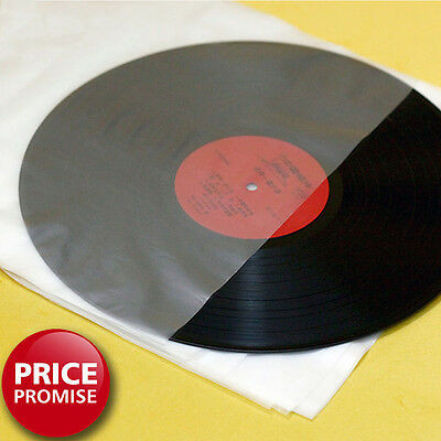 "Anti-Static Antistatic 12"" Inner Vinyl Record Sleeves Round Bottom (Pack of 100)"
