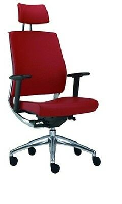 Mael Directional Chair 450 Pop H Red With Arms Cat. 500