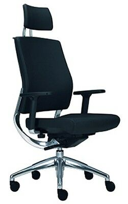 Mael Directional Chair 450Pop H Black With Arms Cat. 600