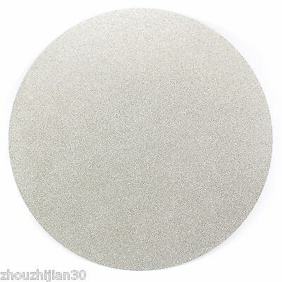 """10"""" inch Nonporous Electroplated Diamond coated Flat Lap Disk Grinding Grit 80"""