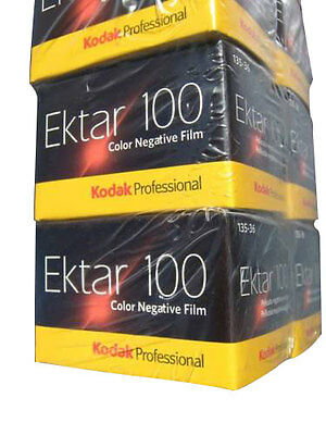 10 Rolls Kodak Ektar 100 35mm Film 135-36 Color Print Negative FRESH Fast Ship