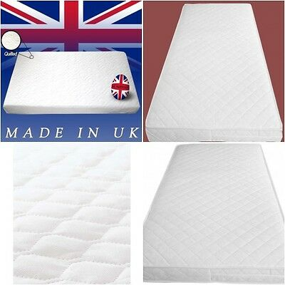 Baby Toddler COT BED MATTRESS Breathable  Nursery  Waterproof All Size