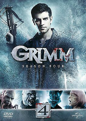 """Grimm Complete Season 4 Collection Dvd Box Set 6 Disc R4 """"new&sealed"""""""