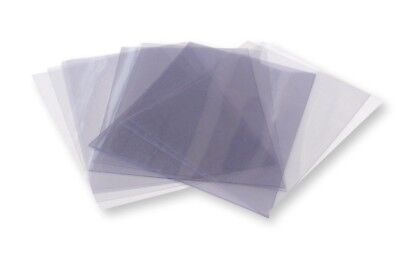 10 A5 Clear Acetate / Plastic Sheets - 180 micron