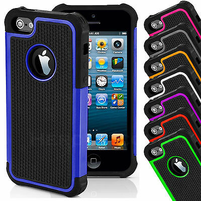 Coque Etui Housse Shockproof Hard Pour iPhone + Film + Stylet