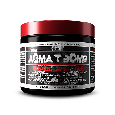 Micronized Agmatine Sulfate, Thermogenic, Pre Workout, Energy Boost.