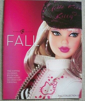NEW BARBIE COLLECTOR CATALOG MAGAZINE FALL COLLECTION 2007 Hello Kitty Barbie