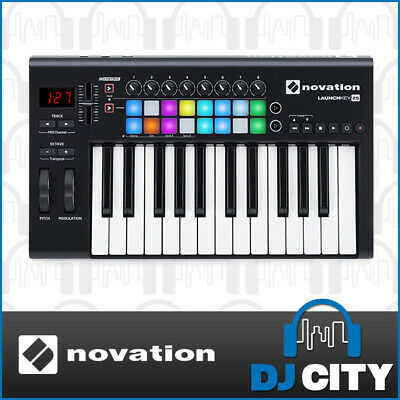 Launchkey 25 mk2 Novation 25 Key MIDI Controller with RGB Pads Studio Production