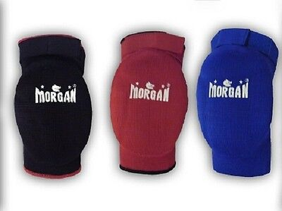 Morgan Elbow Guards Black, Blue, Red - NEW MMA MUAY THAI