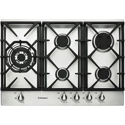 NEW Westinghouse 75cm Stainless Steel Gas Cooktop WHG756SA
