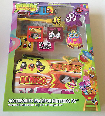 Moshi Monsters DS Accessory Pack - Moshling 10 in 1 Pack New Australian Stock
