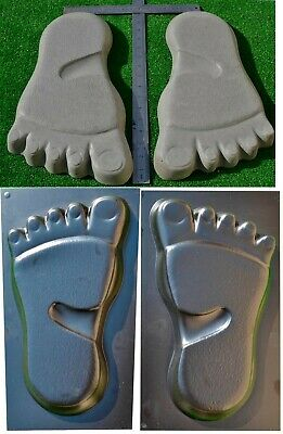 Foot Yeti Print Mold  Paving Concrete Stone Mold Garden Path Trace #s21