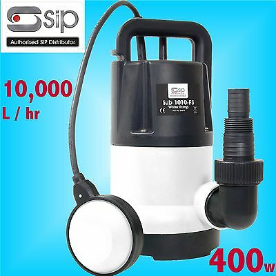 SIP 06879 400w Submersible Water Drainage Pump trench footing cellar flood pond
