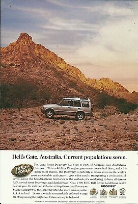 Lot Of 6 Land Rover Ads Nice!