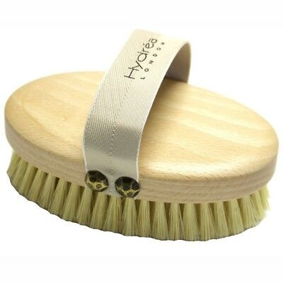 Hydrea Professional Dry Skin Body Brush with Cactus Bristles (Firm/Extra Firm Br