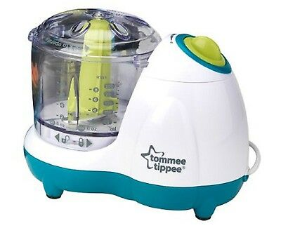 Perfect Baby Food Blender Feeding Grinder Two Speed Setting Tommee Tippee