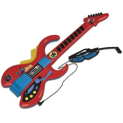 Reig Ultimate Spider-Man Guitar with Microphone and Glasses. Free Shipping
