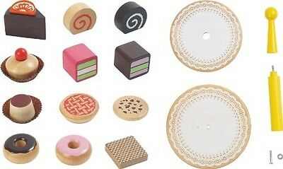 Voila Wooden Pretend & Play Voila Wooden Cake Stand. Free Delivery