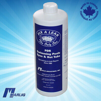 Marlig Fix A Leak Sealer for Pool Leaks (Surface & Plumbing - 1 Litre)