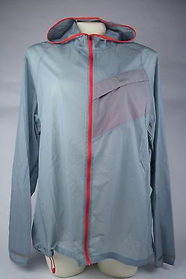 NWT! Mens Nike Impossibly Light Running Jacket Grey Red 620057 088 sz S-XL